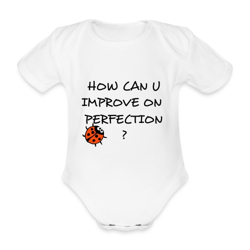 PERFECTION! - Økologisk kortermet baby-body