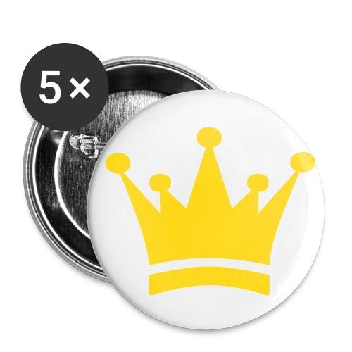 Mellanstora knappar 32 mm (5-pack)