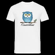 T-Shirts ~ Männer T-Shirt ~ Flauschkauz