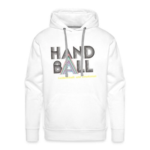 Männer Premium Hoodie - i love,Tshirt,Sport,Shirts,I love Handball,Handball Shirts,Handball