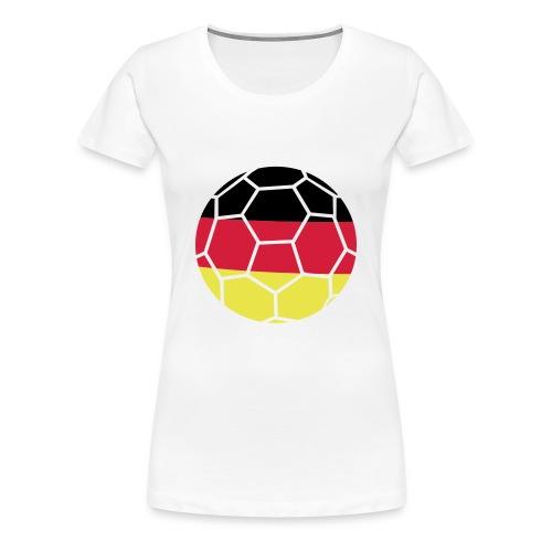 Frauen Premium T-Shirt - i love,Tshirt,Sport,Shirts,I love Handball,Handball Shirts,Handball,Deutschland,DHB