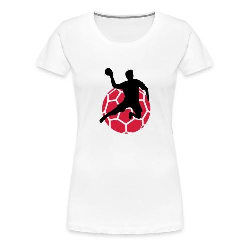 Frauen Premium T-Shirt - Handball,Handball Shirts,I love Handball,Shirts,Sport,Tshirt,i love