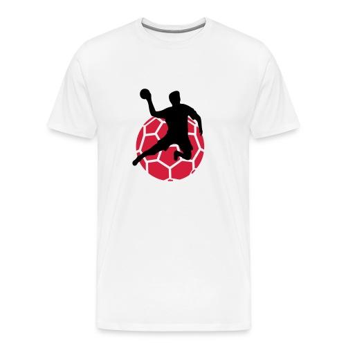 Männer Premium T-Shirt - i love,Tshirt,Sport,Shirts,I love Handball,Handball Shirts,Handball