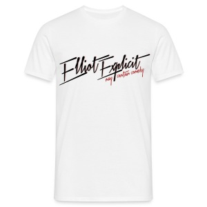 Logo Mens White - Men's T-Shirt