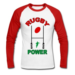 Rugby basque sport - T-shirt baseball manches longues Homme
