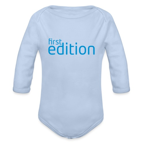 first edition - Baby Bio-Langarm-Body