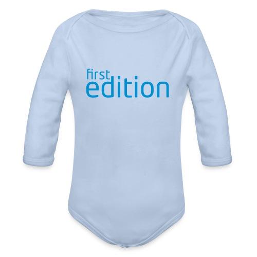 first edition - Baby Bio-Langarm-Body