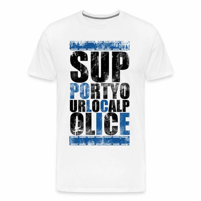 """""""support"""" Männershirt"""