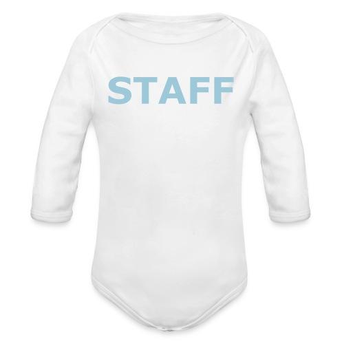 Baby Body STAFF - Baby Bio-Langarm-Body