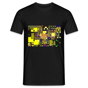 Raspberry Pi Circuit - Men's T-Shirt