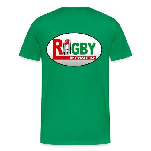 Rugby basque power - T-shirt Premium Homme