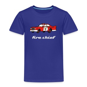 fire chief - Kinder Premium T-Shirt