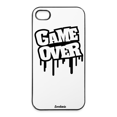 Coque  4/4s - Game Over - Coque rigide iPhone 4/4s
