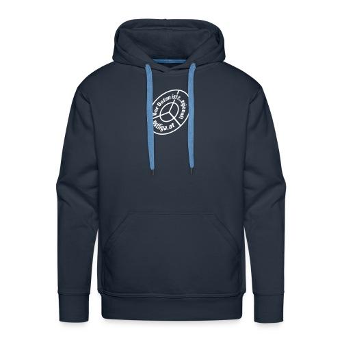Boy's Hoodie, blau - Männer Premium Hoodie