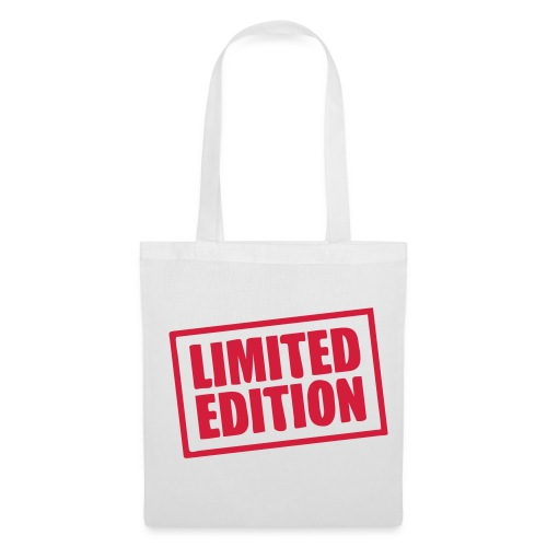 Limited Edition Red tote - Tote Bag