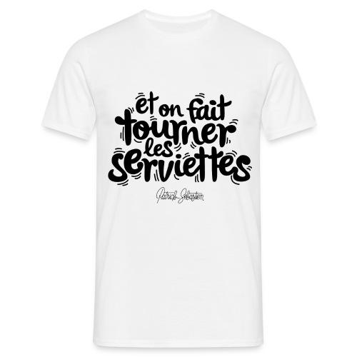 Serviettes - T-shirt Homme