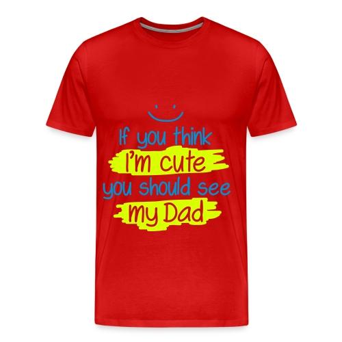 MY DAD Piopy - Men's Premium T-Shirt