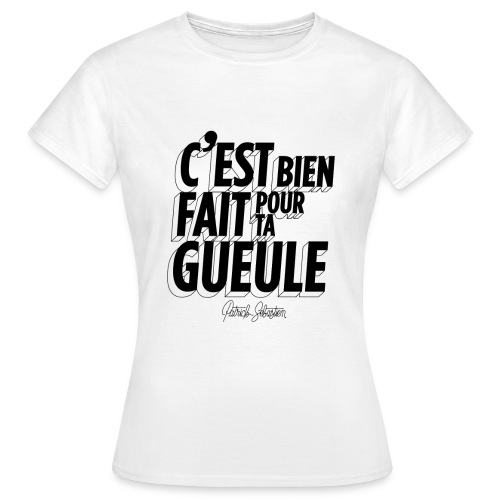 Bien fait - T-shirt Femme