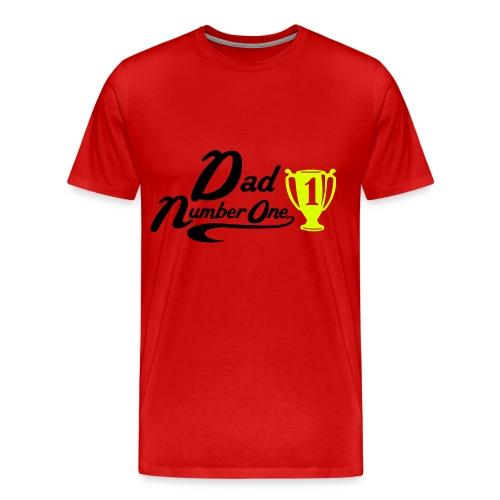 Dad Number Piopy - Men's Premium T-Shirt