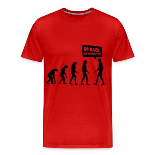 Go Back Piopy - Men's Premium T-Shirt