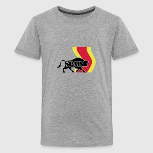 Spain (3c) T-Shirts - Teenager Premium T-Shirt