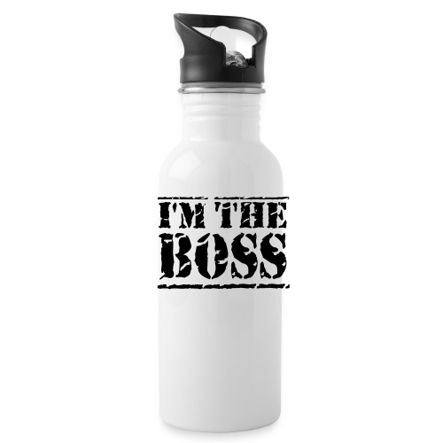 i am the boss flask - Water Bottle