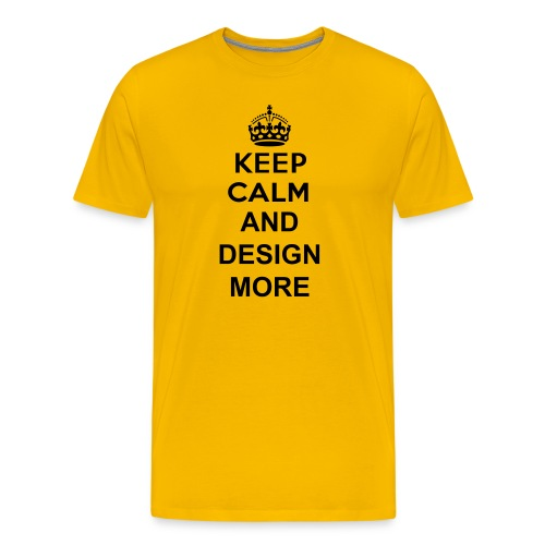 Aldults KEEP CALM - Men's Premium T-Shirt