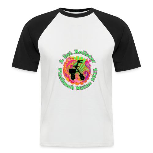 Rollator Flashmob 2013 - Baseball Shirt - Männer Baseball-T-Shirt