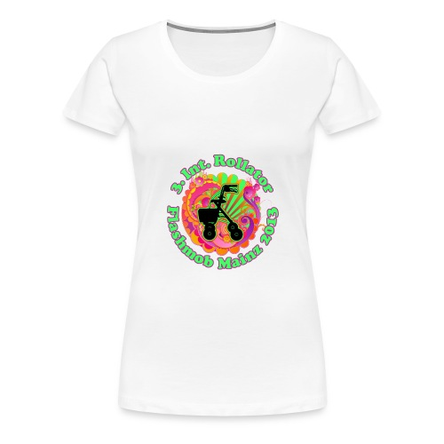 Rollator Flashmob 2013 - Frauen Classic - Frauen Premium T-Shirt