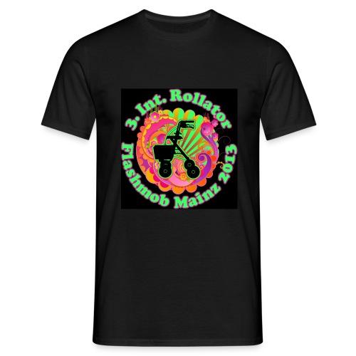 Rollator Flashmob 2013 - Männer Standard schwarz - Männer T-Shirt