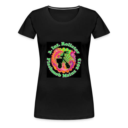 Rollator Flashmob 2013 -Frauen Classic schwarz schwarz - Frauen Premium T-Shirt