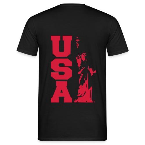 T-Shirt USA - Männer T-Shirt