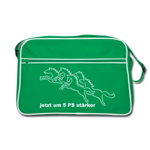 Retrotasche 5 PS stärker - Retro Tasche