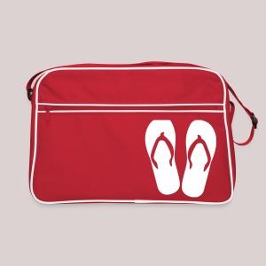 Tasche Retro Flip-Flops - Retro Tasche
