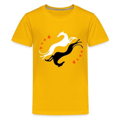 Lévrier Valentin - T-shirt Premium Ado