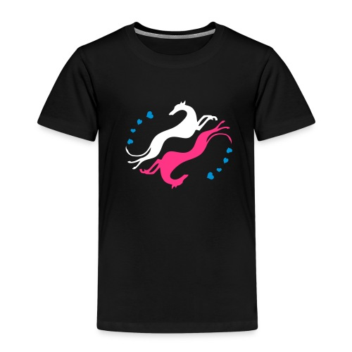 Lévrier Valentin - T-shirt Premium Enfant