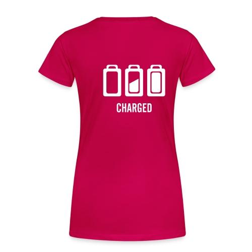 TeeShirt Powered style Classic - T-shirt Premium Femme