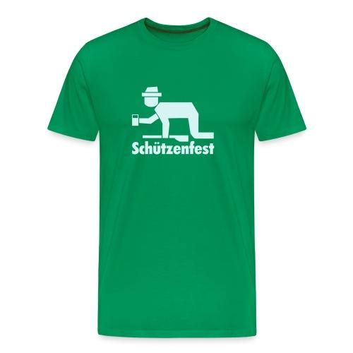 Achtung: Saufgelage! - Männer Premium T-Shirt