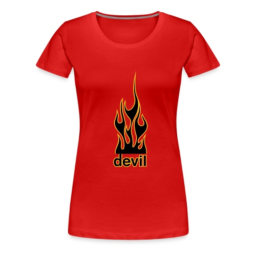 Devil's flame Woman's T - Women's Premium T-Shirt