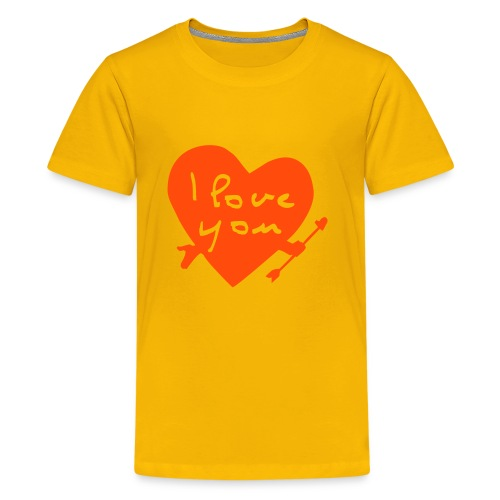 T-shirt enfant love_you - T-shirt Premium Ado