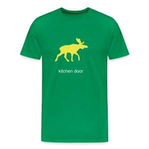 kdoor moose green - Men's Premium T-Shirt