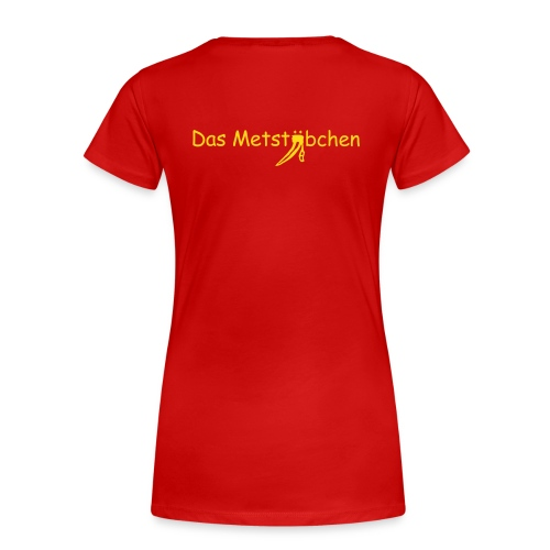 Alternatives Trikot - Girlie - Frauen Premium T-Shirt
