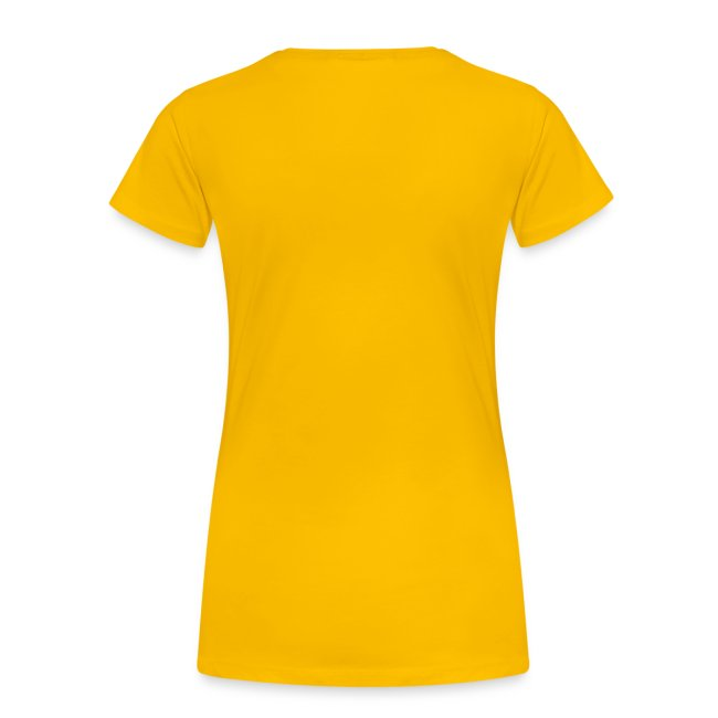 Change this text to whatever you want! - Yellow ladies T shirt