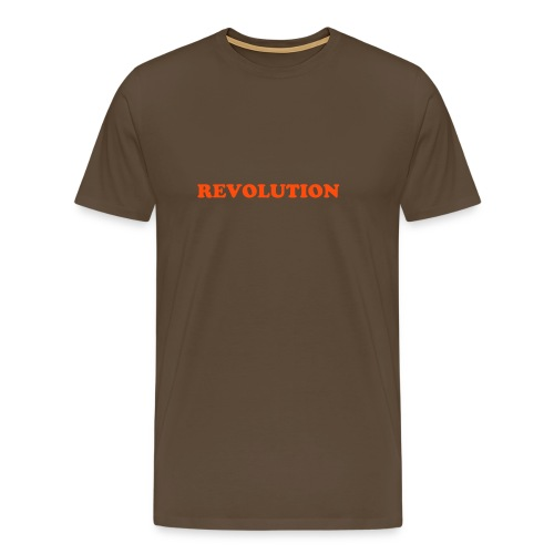 Orange Revolution T-Shirt (Choice of Colours) - Men's Premium T-Shirt