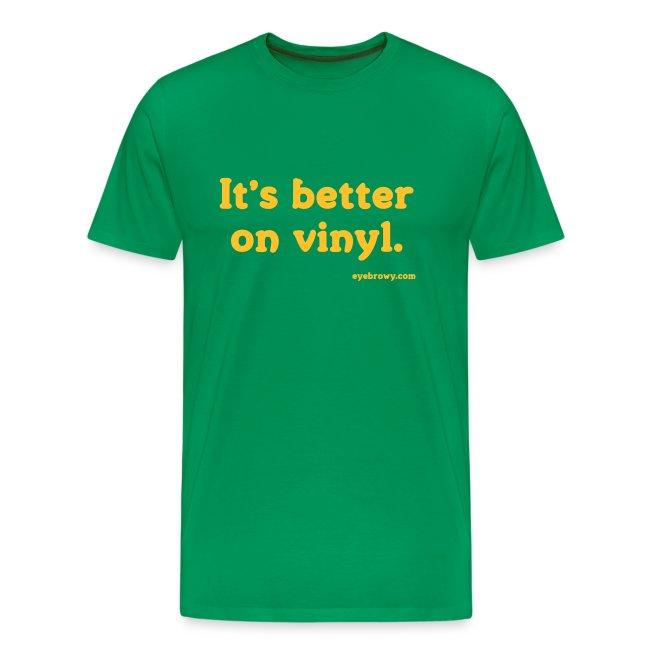 it's better on vinyl