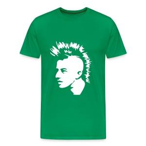 punkface (green) - Men's Premium T-Shirt