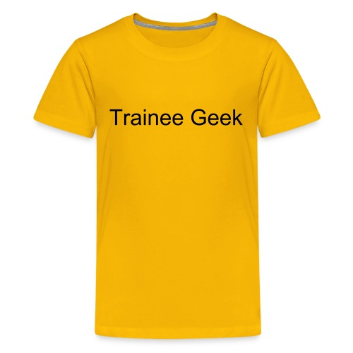 Trainee geek kid's t-shirt - Teenage Premium T-Shirt