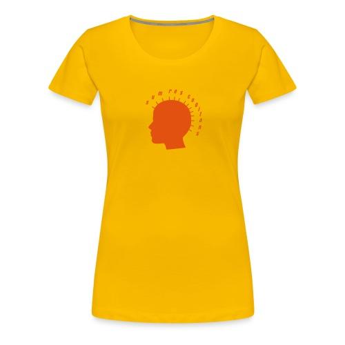 sum res cogitans - Frauen Premium T-Shirt