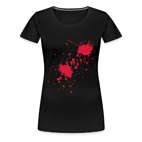 Blood Splatter TEE - Women's Premium T-Shirt