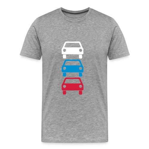 Russian Ampel - Männer Premium T-Shirt
